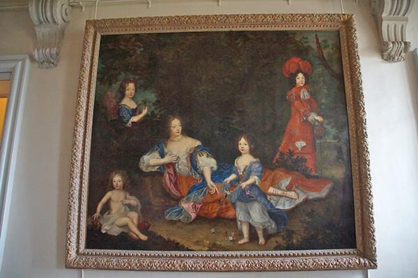 路易皇室的家庭紀念畫!