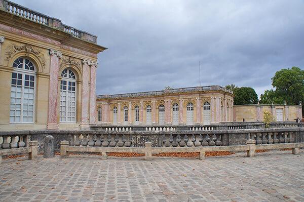 大特里亞農宮,外觀。