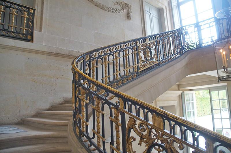 小皇后宮,旋轉樓梯