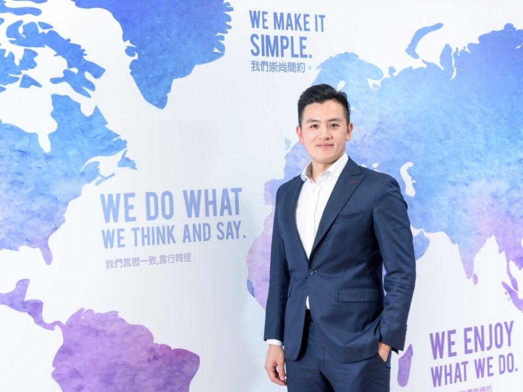VI Taiwan 總經理,兼講師,Will Huang, 黃士豪。