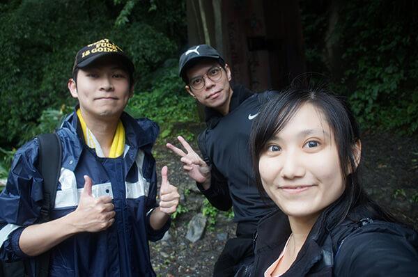 一小時後就抵達抹茶山步道4K的終點!