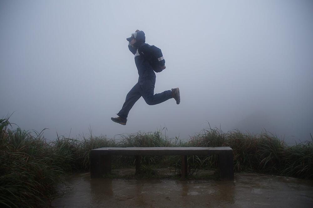 抹茶山前跳躍的 Nick