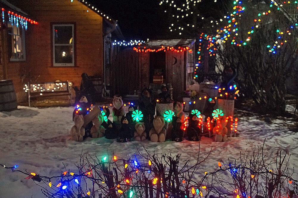 加拿大洛磯山脈 Canmore小鎮聖誕節。