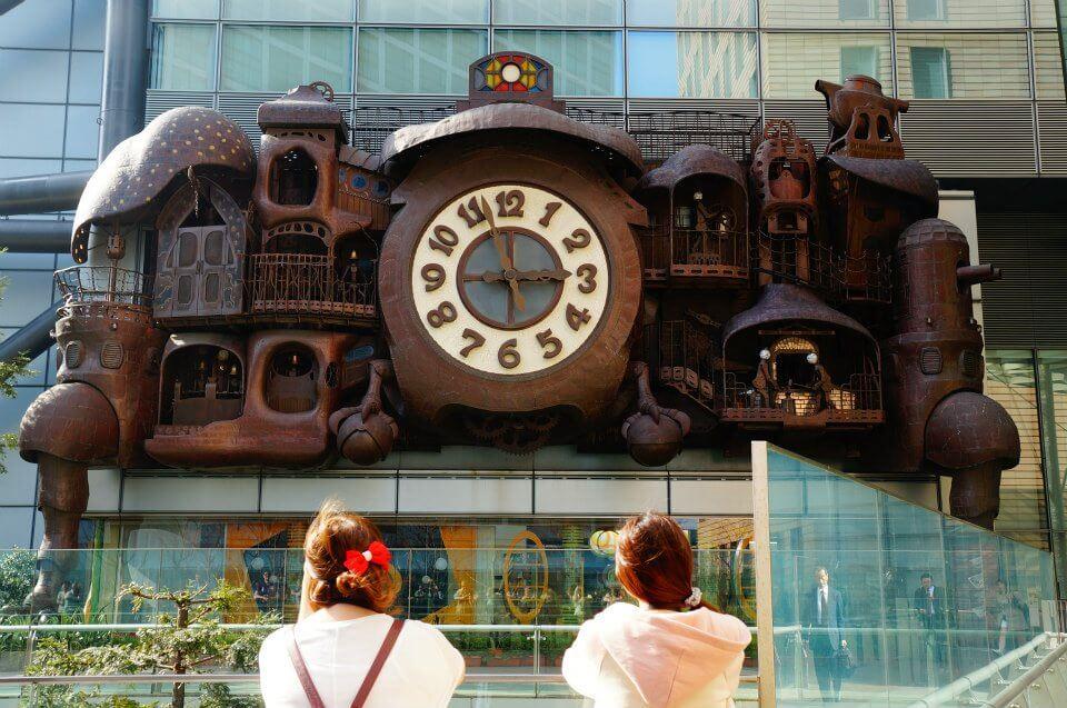 東京電視台,宮崎駿打造的「大時計」,全世界我最愛的大鐘第一名。