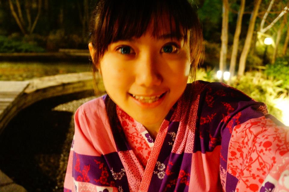 大江戶溫泉提供的可愛浴衣,日本溫泉初體驗!