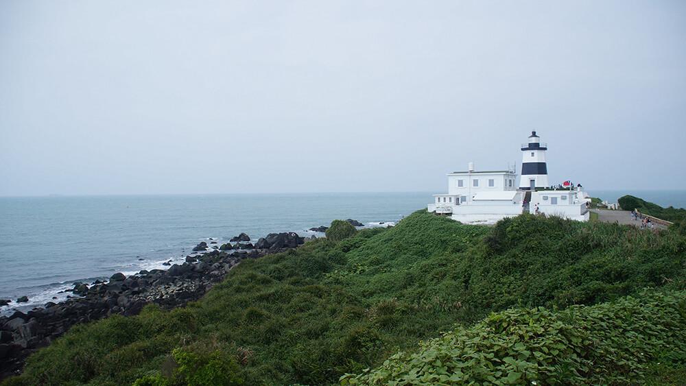 台灣本島最北端,富貴角燈塔。