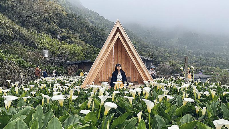 三角木屋,構圖簡單卻好拍。