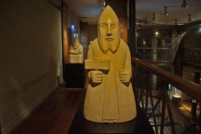 市立歷史博物館,北歐神祇區!這是拿著錘子的雷神索爾!!!