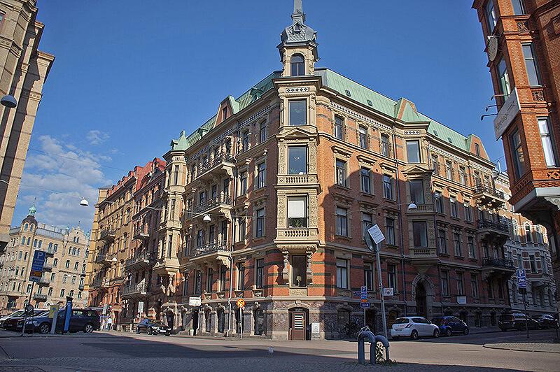 瑞典旅行,Airbnb房源座落在瑞典老城區,漂亮又方便的地方,平均下來一晚不貴!比台灣大多住宿還便宜。