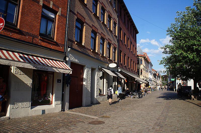 瑞典文青街區,哥特堡最時髦的地帶 HAGA區(哈加區),咖啡廳特色小店林立。