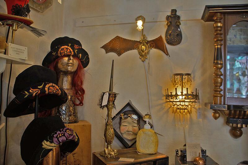 瑞典皇冠之家內的小店,各種稀奇怪的東西XD
