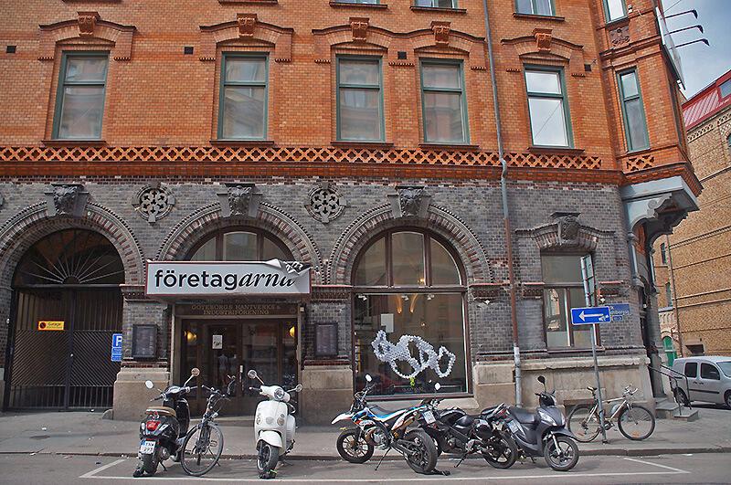 街區風景,觀察瑞典城市建築~哈哈