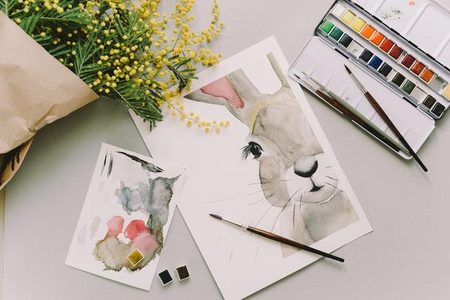 想畫出水彩效果,水彩色鉛筆也是很不錯的選擇!