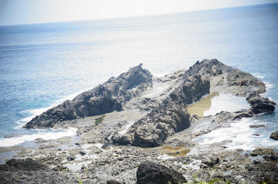 好美的蘭嶼海景,超適合下一首oliver的「海枯石爛」~