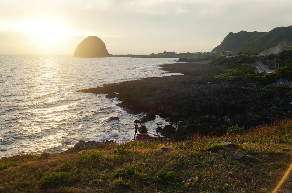 虎頭坡,看夕陽的好地方。