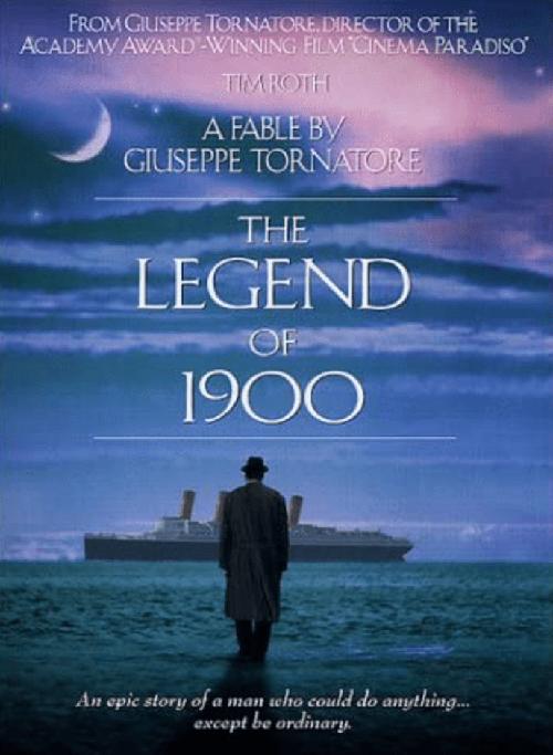 電影:海上鋼琴師 The Legend of 1900 ( IMDb 8.1 )