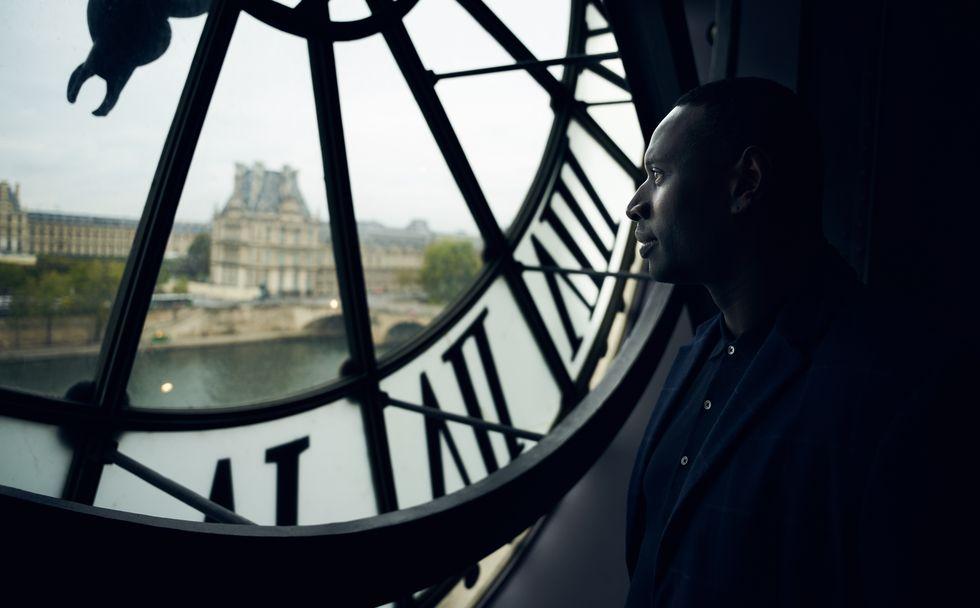 奧塞美術館5樓大鐘看出去的塞納河畔!是讓微貓懷念的巴黎經典景緻!