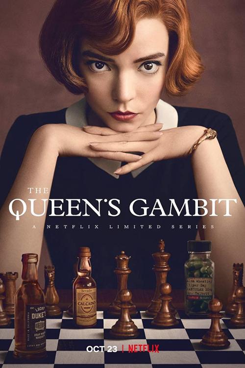 Netflix神劇:后翼棄兵 The Queen's Gambit ( IMDb 8.6 )