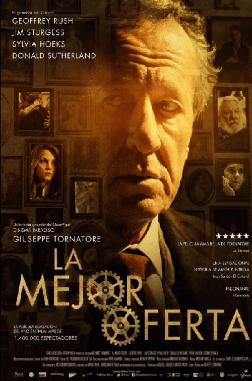 寂寞拍賣師電影海報,精彩的諜對諜,堪稱經典之作。