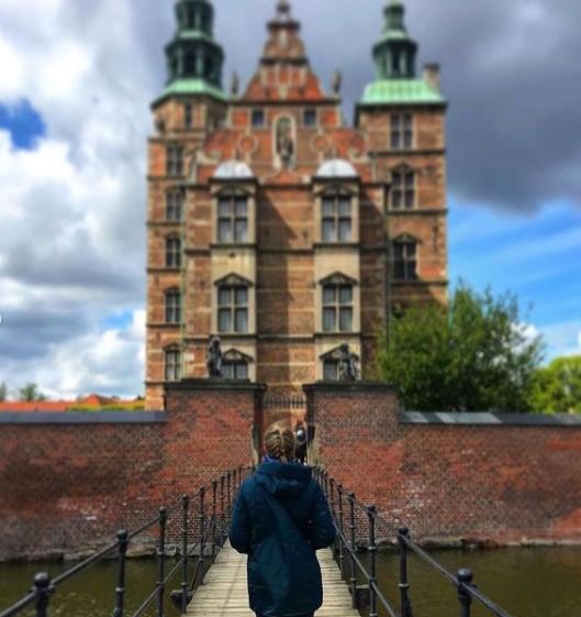 羅森堡外觀,荷蘭文藝復興式建築。