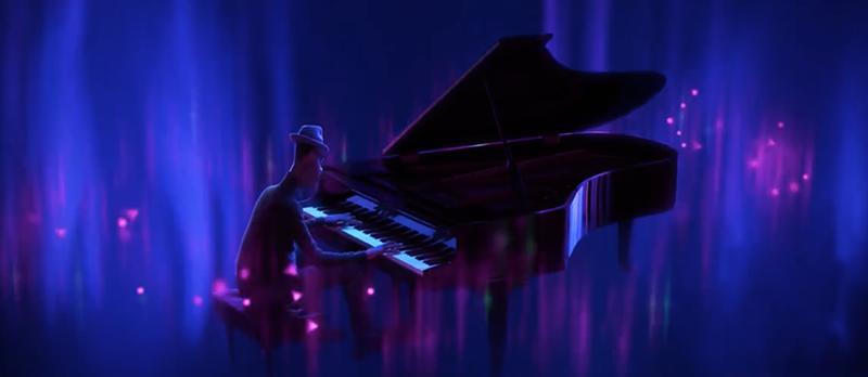 徜徉在音樂與心流狀態的喬伊,陶醉在其中,就是無可取代的美好。