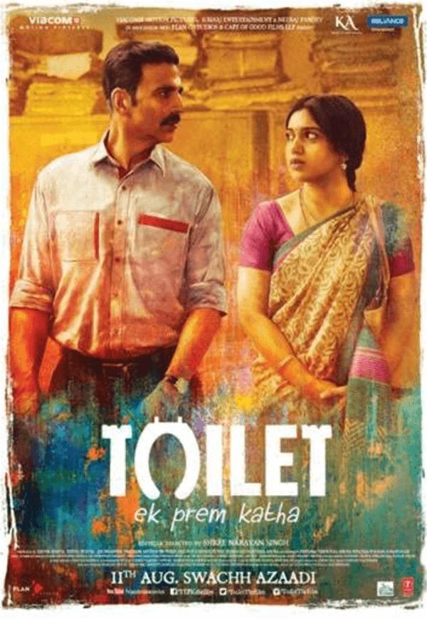 IMDb評分極高的印度電影:廁所愛情故事,netflix 現正上映。