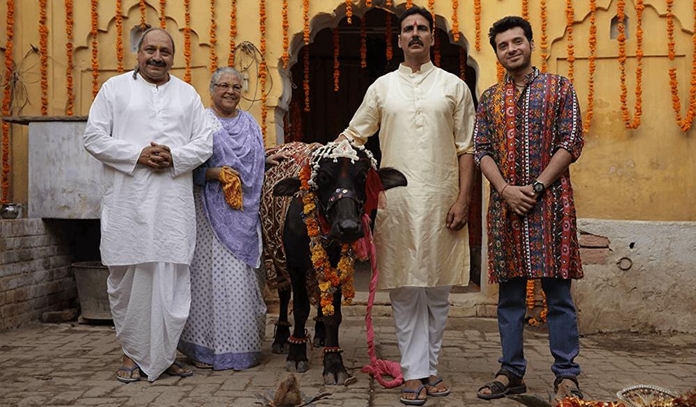 傳統到不行的凱夏與他的第一任妻子,牛牛,這就是潔雅要挑戰的印度傳統家庭。
